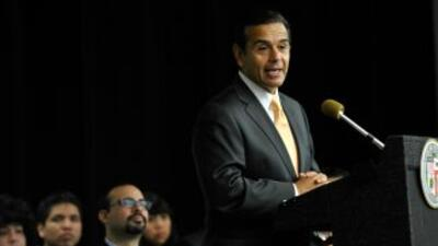 El alcalde de Los Angeles, California, Antonio Villaraigosa.