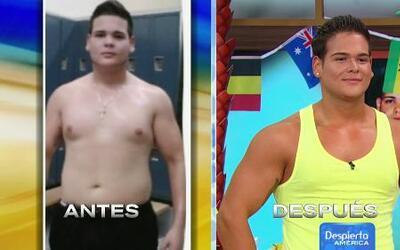 Oscar pesaba 265 libras hasta que siguió la dieta de Chabán