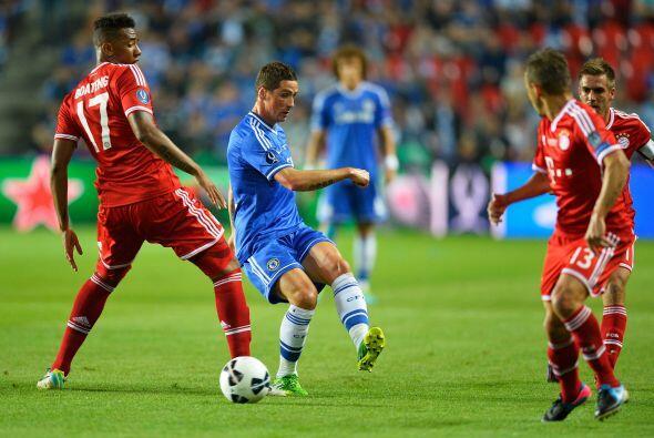 En la primera clara del Chelsea llegó el primer gol en las piernas de Fe...