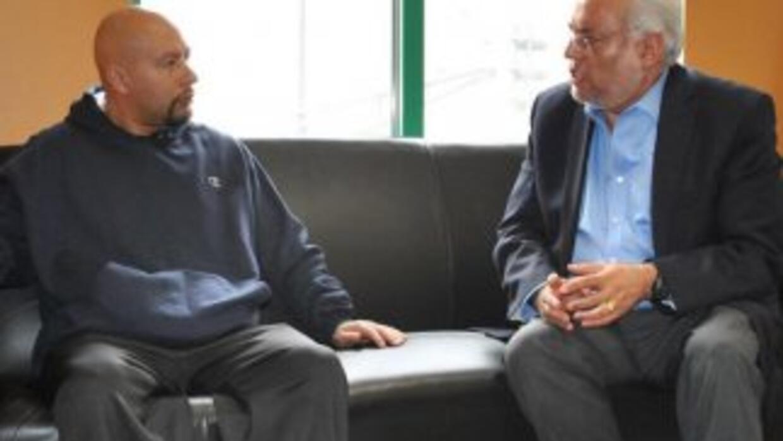 Ángel González se reunió con el cónsul Carlos Martín Jiménez Macías. (Cr...