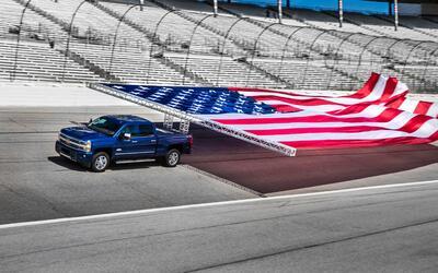 Chevrolet bate record Guiness con su nueva Silverado HD 2017