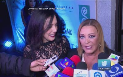 Sylvia Pasquel está muy emocionada de encarnar a su madre en la serie so...