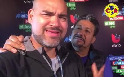 Raúl 'El Pelón' y Andrés 'El Feo' hacen apuesta para el clásico América...