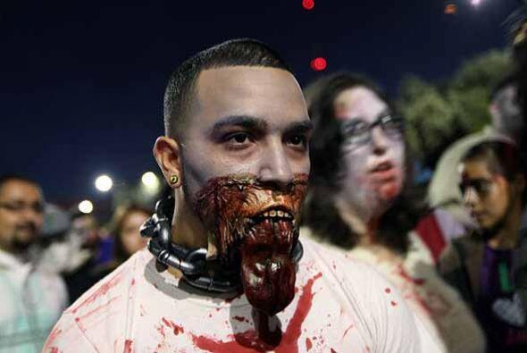 En medio de mucho terror controlado, esta marcha llegó también a México,...