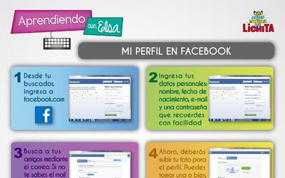 Aprendiendo Con Elsa: Abre un perfil en Facebook