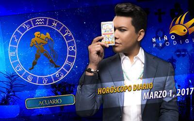 Niño Prodigio - Acuario 1 de marzo, 2017