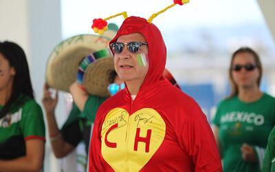 México, el país de los hinchas orgullosos, se entregó.