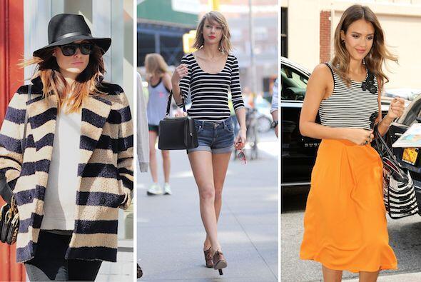 Dale la bienvenida a las rayas que están a la moda. Aprende qué prendas...
