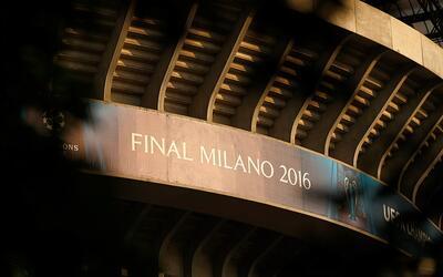 San Siro acogerá la final de la Champions.
