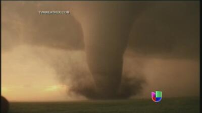 Impresionantes imágenes del tornado en Oklahoma