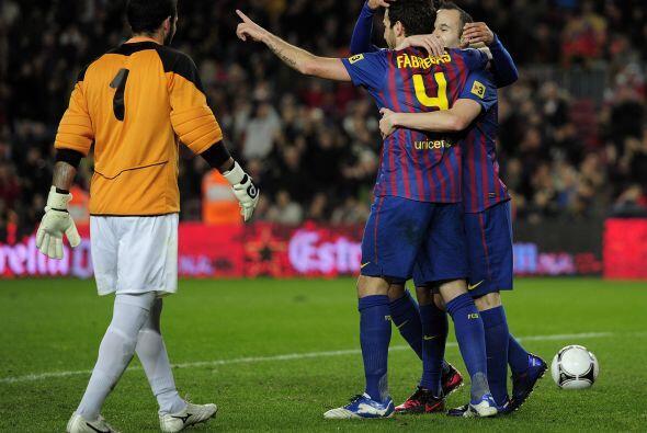 El cuarto gol era lapidario para el Hospitalet, que no oponía resistencia.