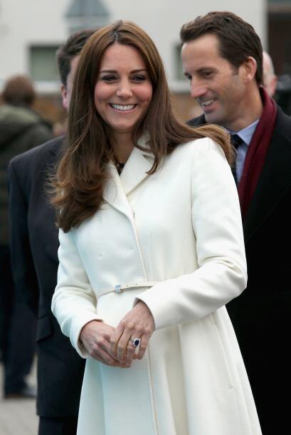 La duquesa de Cambridge reapareció tras pasar dos semanas en el C...