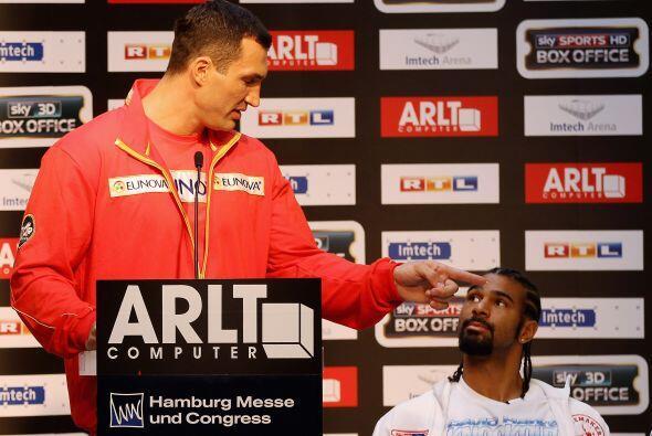 El campeón de los pesados ucraniano, Vladimir Klitschko, prometió darle...