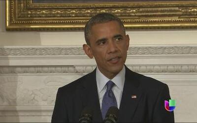 El presidente Obama autoriza un ataque aéreo en Irak