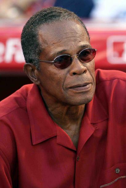 El panameño Rod Carew, uno de los mejores bateadores de las Ligas...