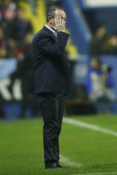 El entrenador del Levante no quería ver una goleada para sus diri...