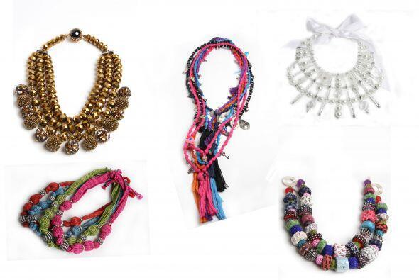 La moda no sólo se basa en joyas hechas con metales preciosos, también e...