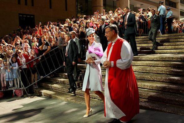 Horas antes, los duques cumplieron con sus compromisos como buenos catól...