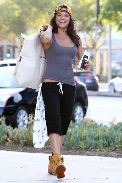 Sabemos que Michelle Rodriguez no es la más femenina del mundo, p...