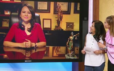 Despierta América sorprendió a Hilda con su permiso para trabajar en EEUU
