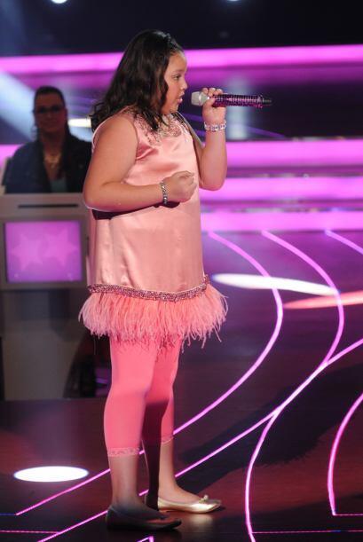 Dania también prefería los colores rosas a la hora de vest...