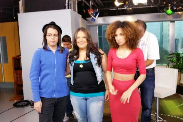Me siento una estrella con estas entrevistas. #HavingFun #Univision #Fel...