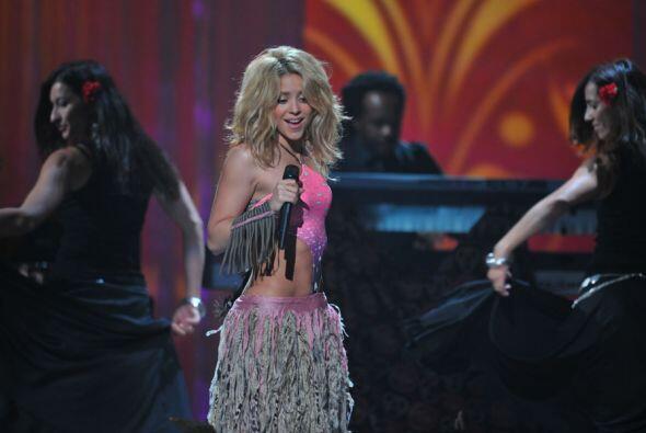 Inolvidable fue su paso en Premios Juventud 2010.