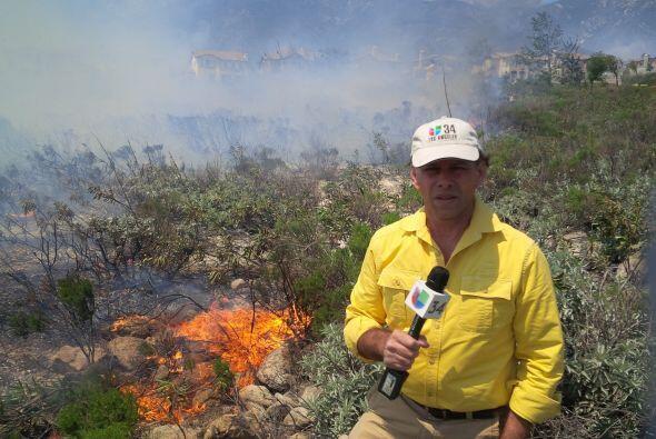 Voraz incendio en Rancho Cucamonga: Un siniestro en la reserva forestal...