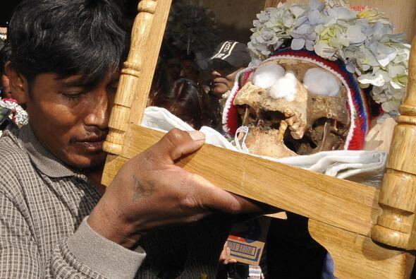 Se trata de un ritual que se celebra una semana después del Día de Todos...