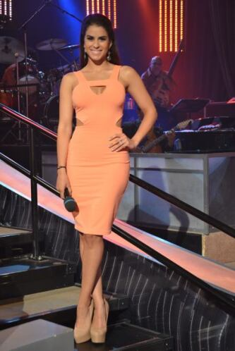 Vanessa nos demuestra por qué fue Nuestra Belleza Latina hace un par de...