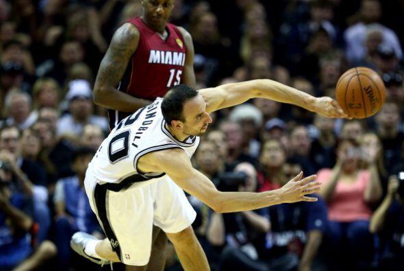San Antonio Spurs se llevó el primer juego de la final de la NBA...