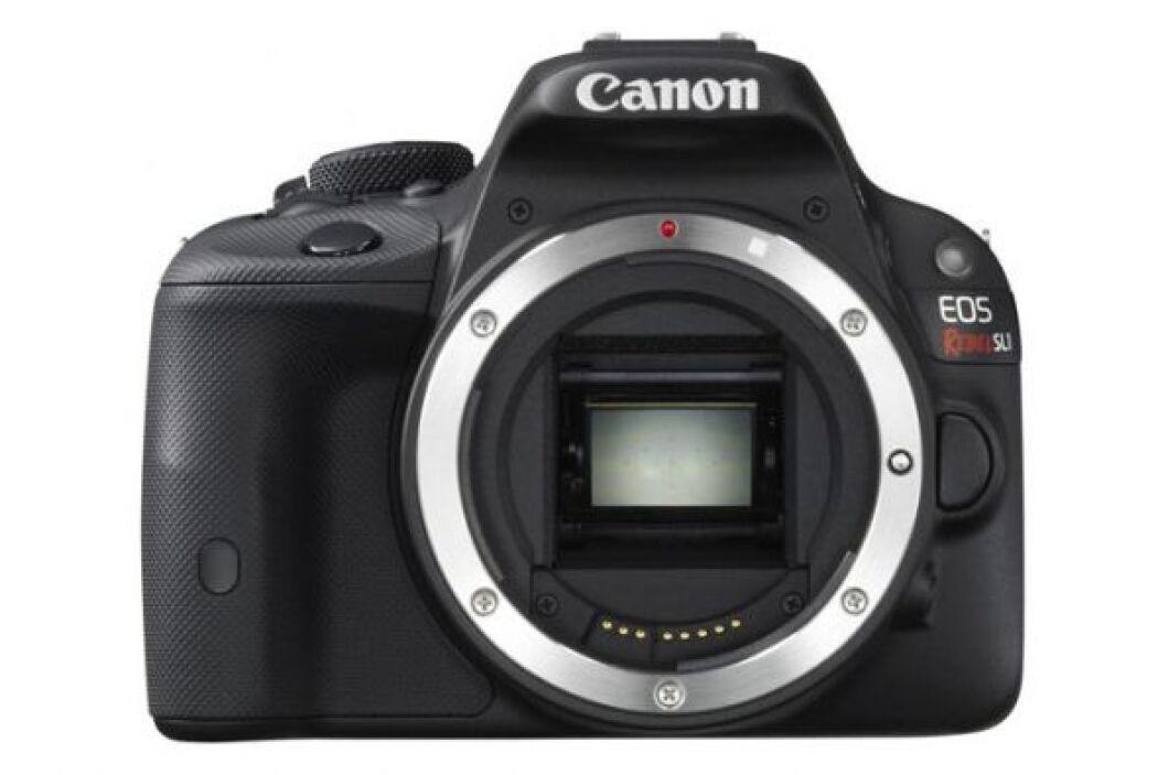 La SLR más pequeña.  Canon EOS Rebel SL1, $750  Esta cámara es casi tan...