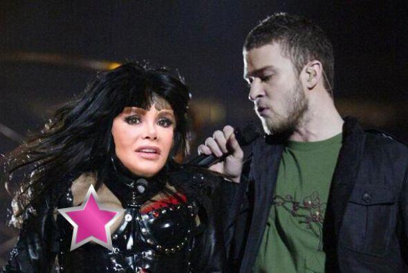 Usurpando a Janet Jackson en el polémico show con Justin Timberla...