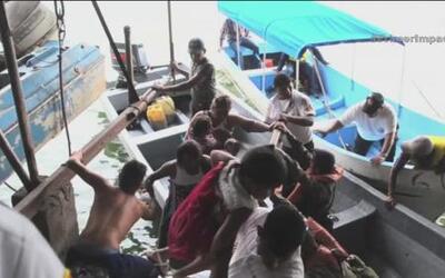 Turistas aseguran que un milagro los salvó de morir ahogados