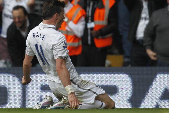 El jugador británico fue, una vez más, el salvador del Tottenham al marc...