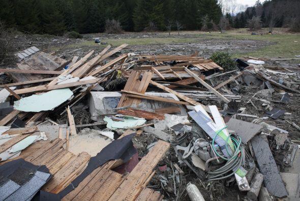 Alrededor de 30 casas quedaron destruidas.