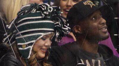 Kardashian ha acompañado a Odom desde que el ex jugador fue hospitalizado.