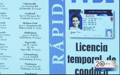 Conozca los requisitos para solicitar licencias temporales en IL