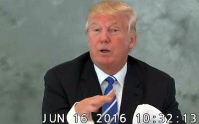 En video: Donald Trump reconoce que sus comentarios sobre mexicanos afec...
