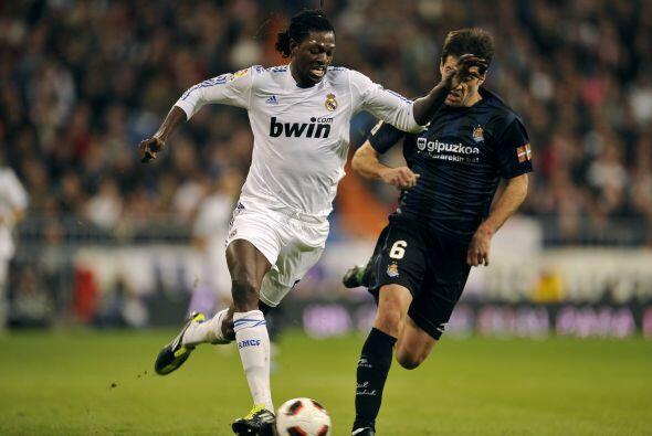 Emmanuel Adebayor llegó en el invierno del invierno del 2010 al conjunto...
