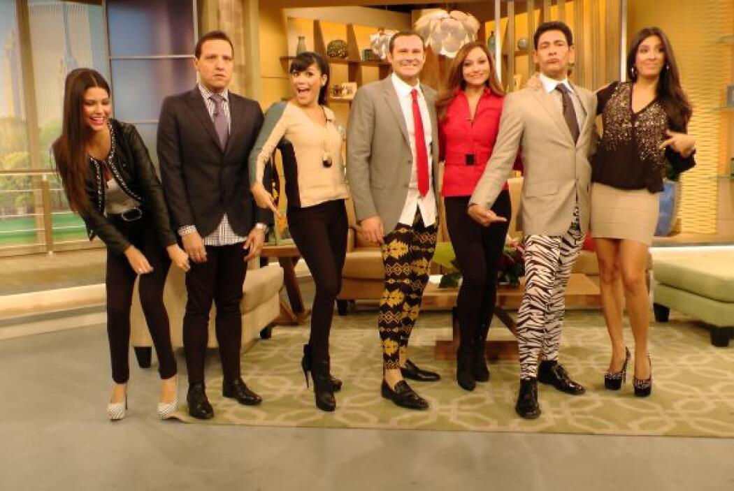 Querido público, ¿cómo lucen nuestros presentadores?, ¡Queremos saber su...