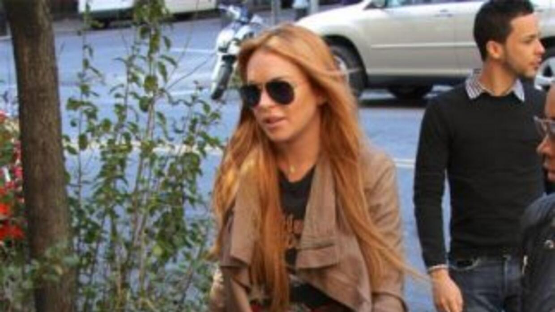 La polémica actriz Lindsay Lohan -a quien se ha relacionado recientement...