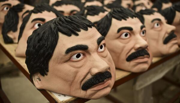 """Caretas de """"El Chapo"""""""