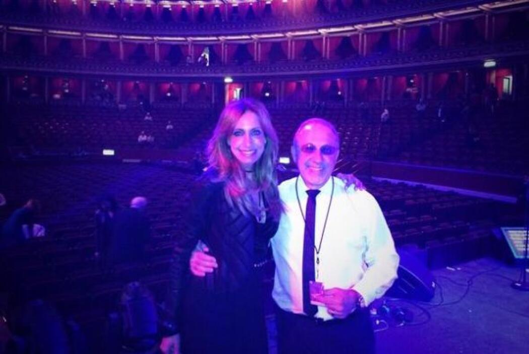 Lili había ido al concierto de Gloria Estefan en Londres, donde se pudo...