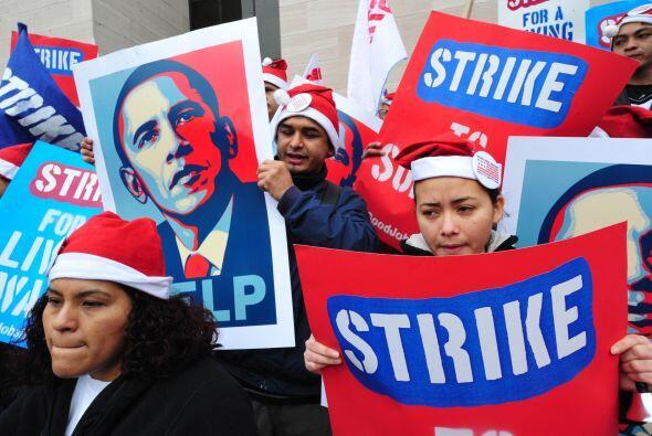 Lo llamaron a actuar y presionar al Congreso para elevar el salario m&ia...