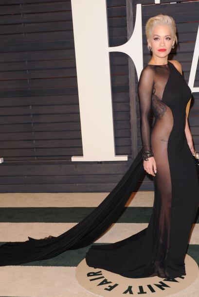 Diseños como el de Donna Karan, que fue usado por Rita Ora, s&oac...