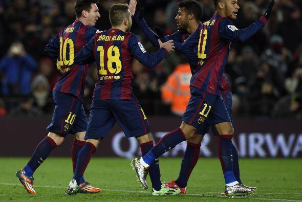 Ya que Lio Messi por medio de un golazo, ponía al frente al Barcelona po...