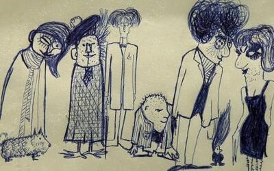 Los dibujos y manuscritos de John Lennon para sus dos aclamados libros s...