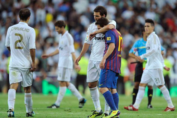 Al término del partido, Real Madrid se quedó con la sensac...