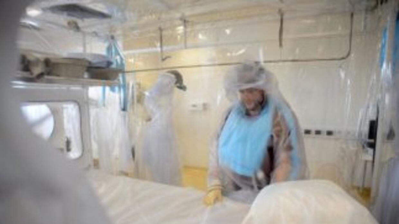 El paciente había sido ingresado en la clínica especializada de los NIH...